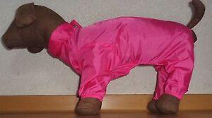 Hunde-Schneeanzug-Regenmantel-Regenjacke-BEIN-Hundebekleidung-20-55-cm-NEU