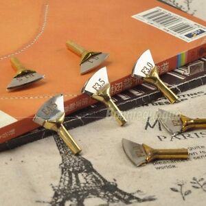 leather brass soldering iron tip edge marking creaser tip edge decorate tool. Black Bedroom Furniture Sets. Home Design Ideas