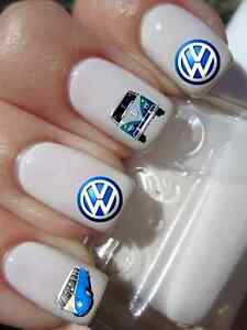 Image Is Loading 30 Vw Camper Car Nail Art Decals Water
