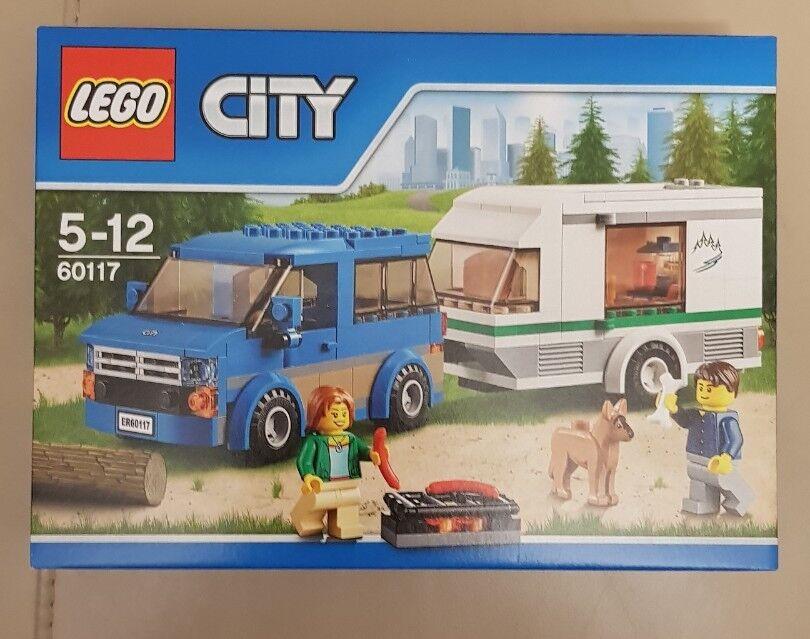 LEGO CITY CAR AND CARAVAN SET 60117 NEW SEALED DELETED SET