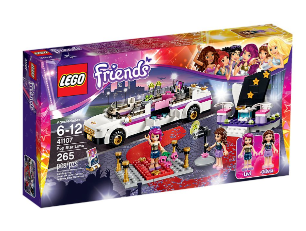 LEGO 41107 FRIENDS POP estrella Limousine   nuovo & non aperto   80% di sconto