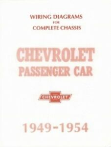 CHEVROLET 1949, 1950, 1951, 1952, 1953 & 1954 Chevy Car ...