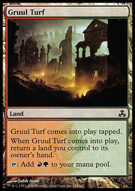 MTG Magic - (C) Guildpact - Gruul Turf - SP