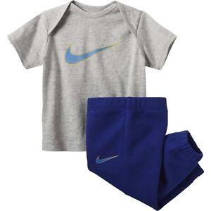 Nike-Infante-Ninos-Unisex-Camiseta-Pantalon-Jogging-Gfx-Puno-728563-063