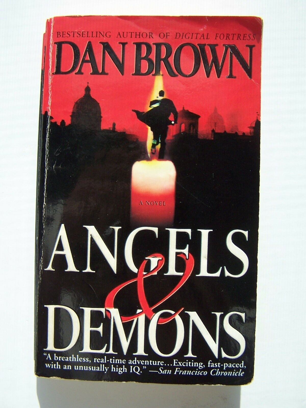 Dan Brown Angels & Demons Paperback Early Print Version