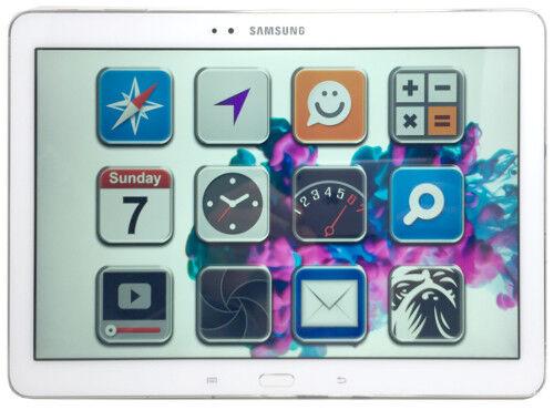 Samsung SM-P600 Galaxy Note 10.1 2014 Weiß *gut* 16GB Wi-Fi Tablet (72146)
