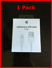 1M OEM Original Apple Lightning USB Charger Cable for iPhone 6s Plus iPhone 5
