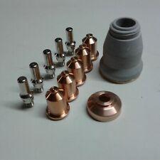 12pc Cnc Shielded Tip Kit Everlast 50s52i60s62i Plasma Cutter Iptm 60 Torch