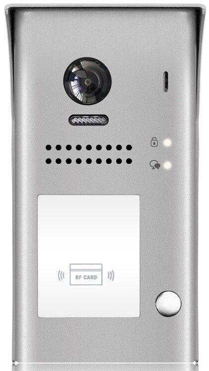 2 Draht Aufputz Aussenstation Fischaugen Kamera 170° 2.0 Mega Pixel