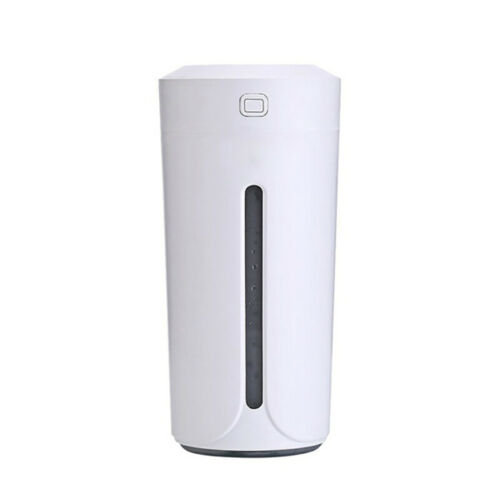 Fashion Cup Shape USB Charging Car Office Humidifier With Colorful Night EKV
