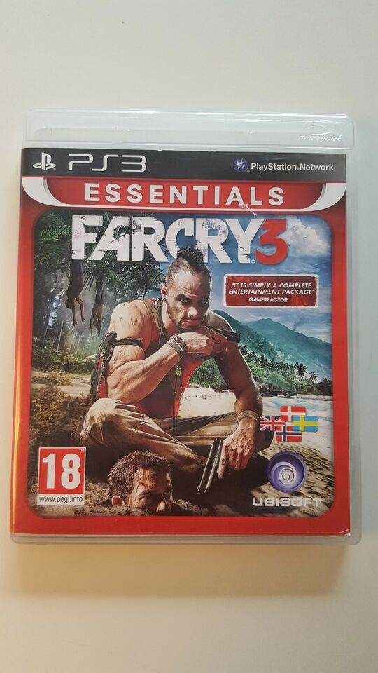Far Cry 3, PS3