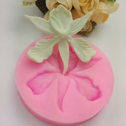 New Flower Silicone Ice Cube DIY Chocolate Cake Candy Cookie Soap Mould Mold