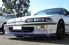 1992-1993 Acura Integra JDP Style Poly Urethane Front Bumper Lip Spoiler  92 93