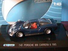 PORSCHE 906 CARRERA 6  1965 KDW 711 COLLECTION DARK BLUE BLEU FONCE 1/43