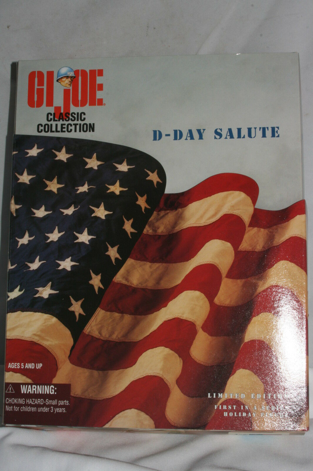 GI Joe Classic Collection, D-Day Salute Big rosso 1 African American, Mint Boxed