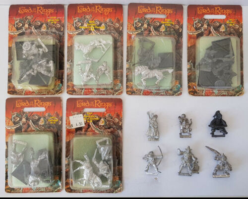 Multi-listing Vintage Citadel Lord of the Rings MINT metal miniatures LOTR OOP