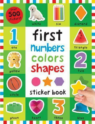 First 100: First 100 Stickers: First Numbers, Colors, Shapes