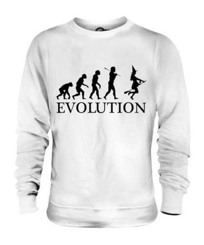 WITCH EVOLUTION OF MAN UNISEX SWEATER  Herren Damenschuhe LADIES GIFT COSTUME