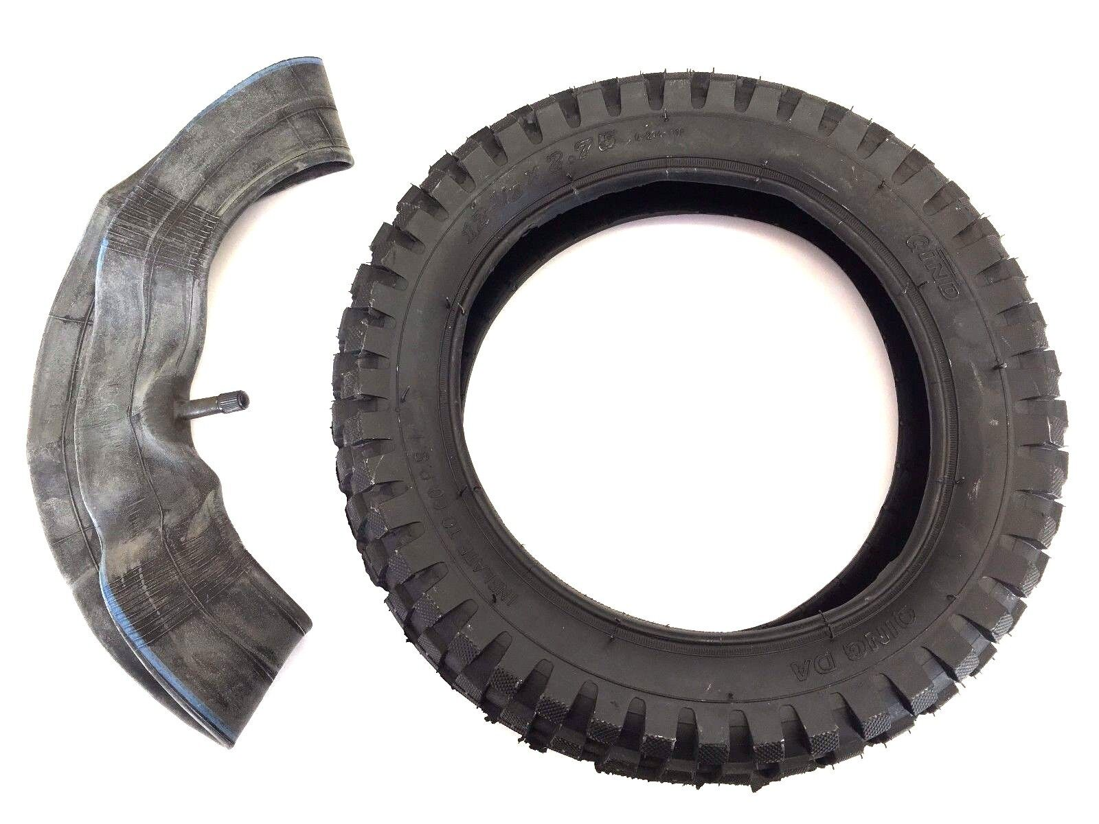 12.5 X  2.75 Tubo Interior & Neumático Razor MX350 MX400 Dirt Bike cohete 12 1 2 X 2 3 4  salida