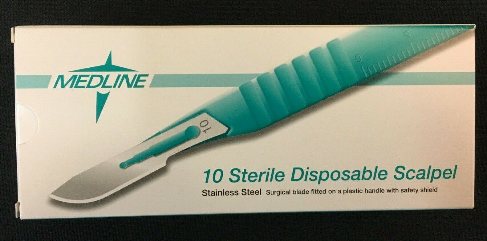 Medical Use Crafting and Miniature Handy Work Designing Signs 10 Pack of Disposable Scalpels #13 for Cardmaking