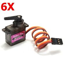 6X Towerpro MG90S Metal Gear RC Micro Servo
