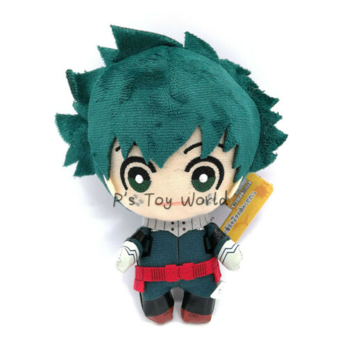 My Hero Academia 15CM Midoriya Izuku GREEN Plush Doll Figure Toy