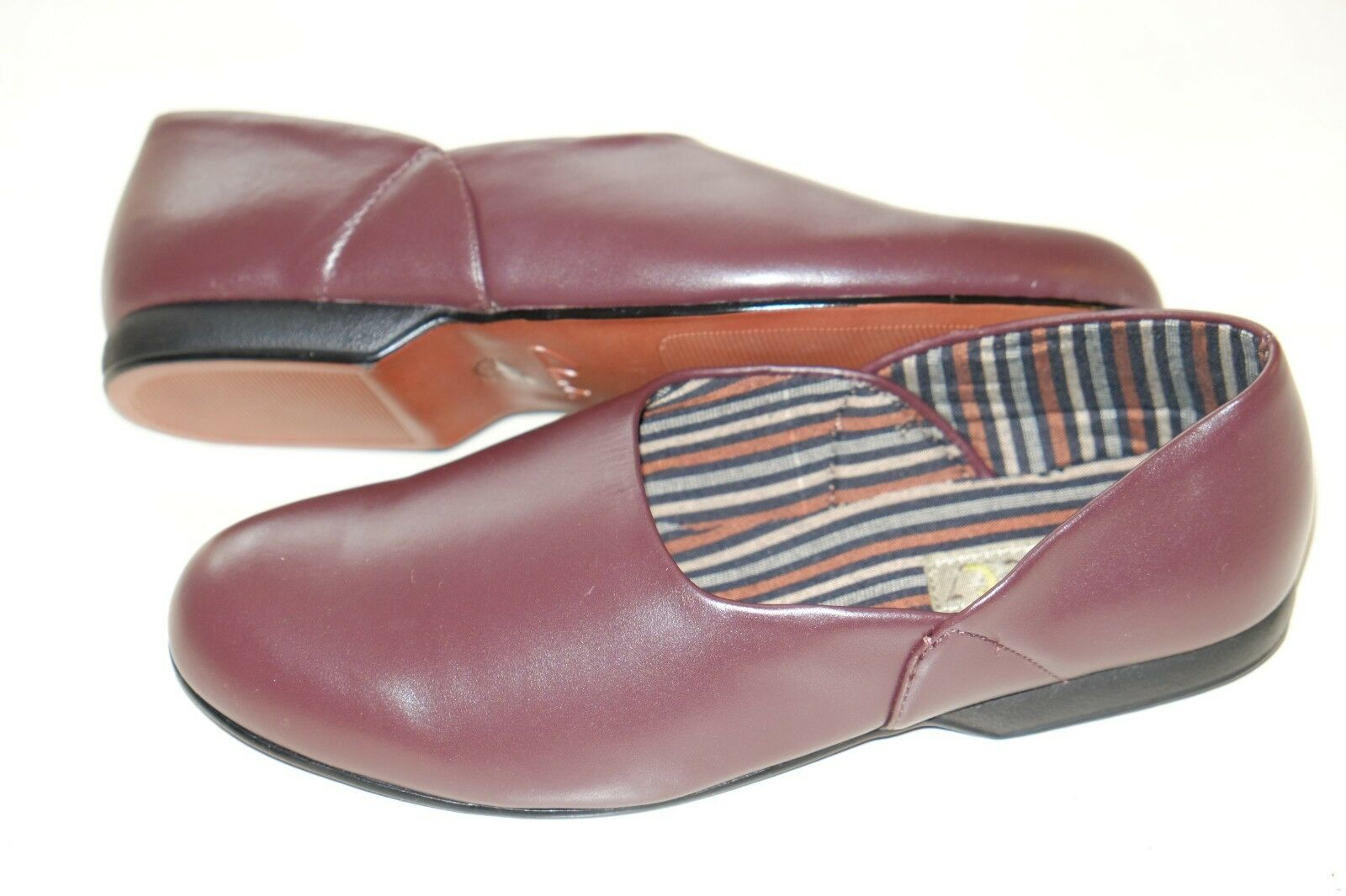 Mens Clarks /'King Twin/' Twin Gusset Classic Textile Slippers G Fitting
