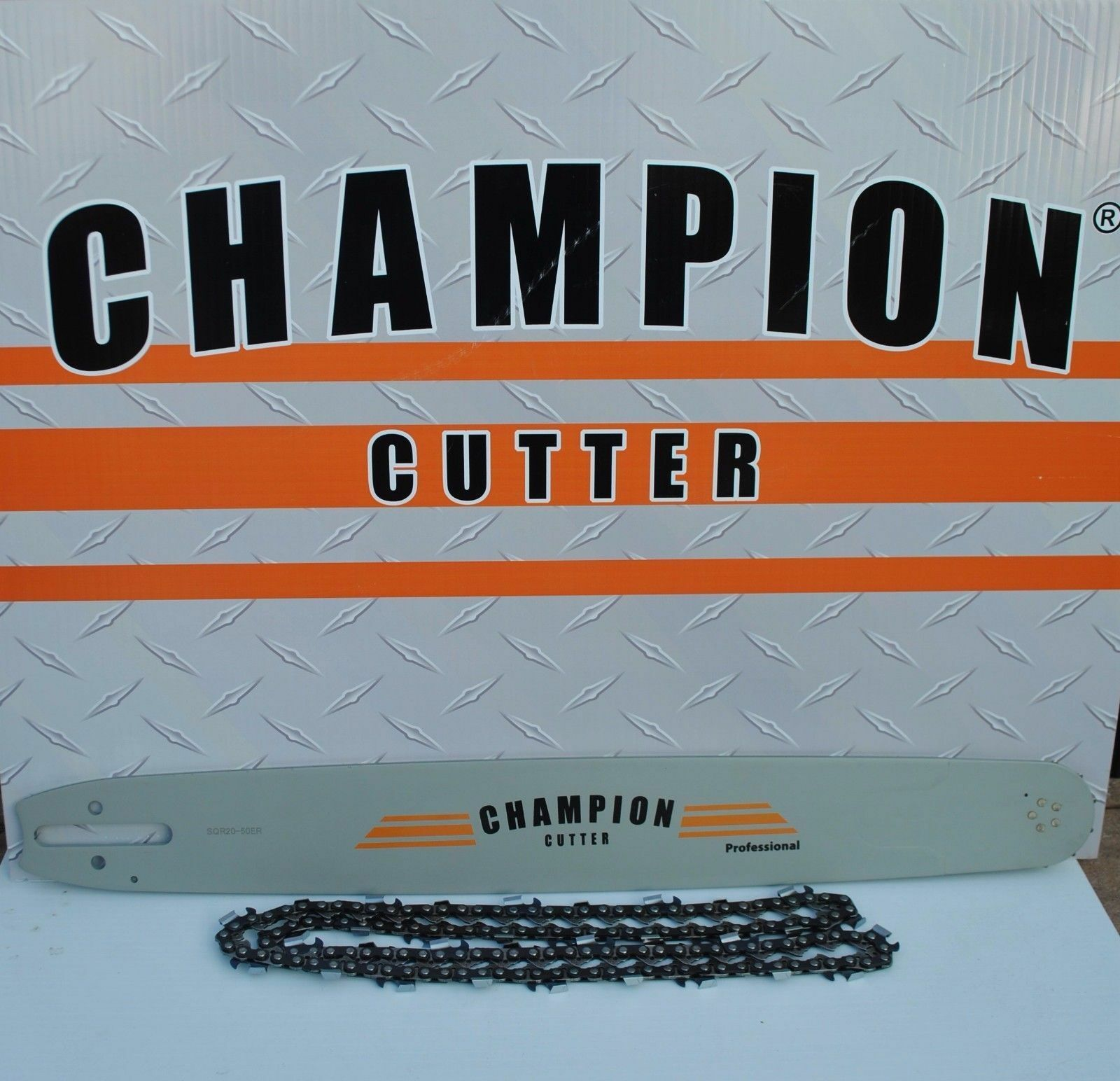 Champion Cutter Bar and Chain for Stihl saws 24   3 8  .050 84dl  3 8 .050 84