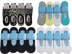 12-X-LADIES-WOMENS-INVISIBLE-GIRLS-FOOTSIES-TRAINER-SHOE-LINER-BALLERINA-SOCKS
