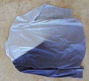 445-Auth-EMPORIO-ARMANI-Man-Digital-DOTS-Cotton-Woven-SHIRT-Size-17-43