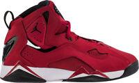 Jordan True Flight Boy Shoes Red Black In Box