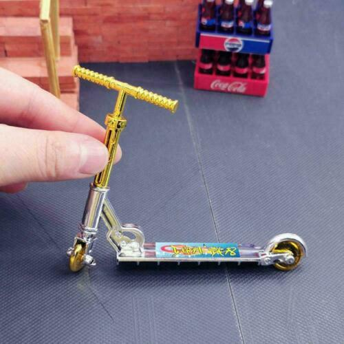 Mini Finger Scooter Two Wheel Skateboard Fingerboard Gift Toys Kids Gifts
