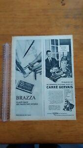 PUBLICITE-ANCIENNE-PUB-ADVERT-CIGARES-BRAZZA-PARIS-MATCH-1965