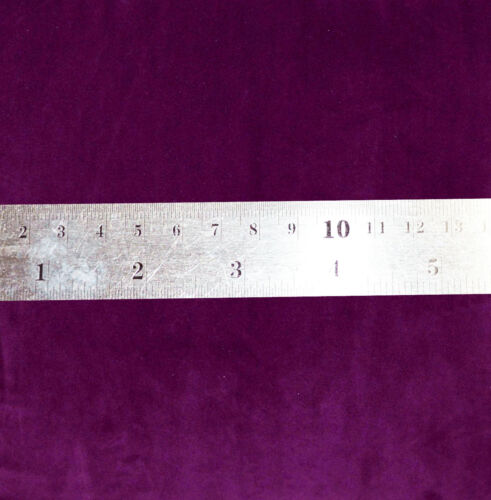 Mf51t Violet Uni Épais Microfibre Velours Boîte 3D Coussin de siège Housse de taille personnalisée