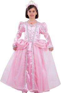 Déguisement Fille Princesse Aurore Rose 4 Ans Luxe Dessin Animé Neuf Pas Cher