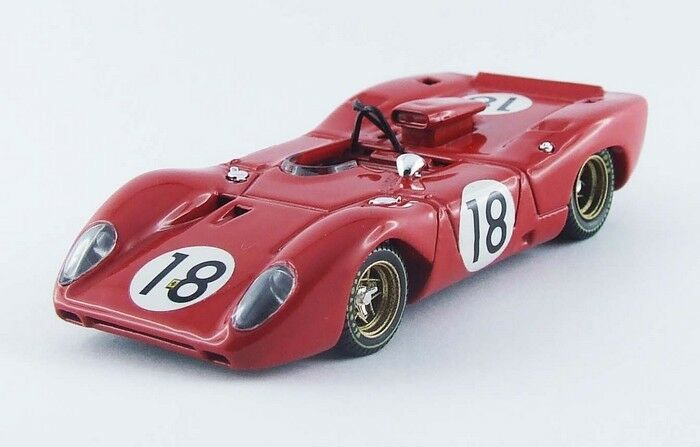 Best MODEL 9493 - Ferrari 312 P Spyder test  18 test 24H du Mans 1967  1/43
