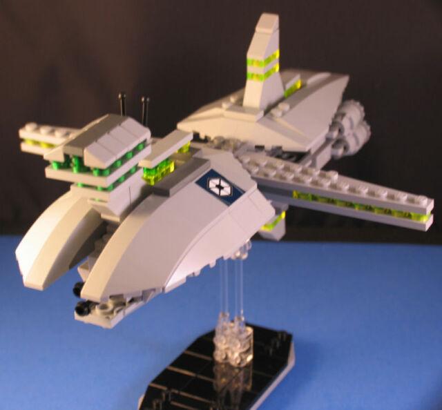 Lego Brick Star Wars Custom Mini Separatist Cruiser Starship