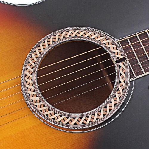 93mm Klassische Gitarre Rosette Schallloch Decals Holzintarsien Klassische