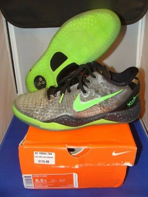 Nike kobe 8 classificazione ss natale dimensioni 6.5 (calza a come un 7 ragazzi a (calza cuor leggero indossato d56a91