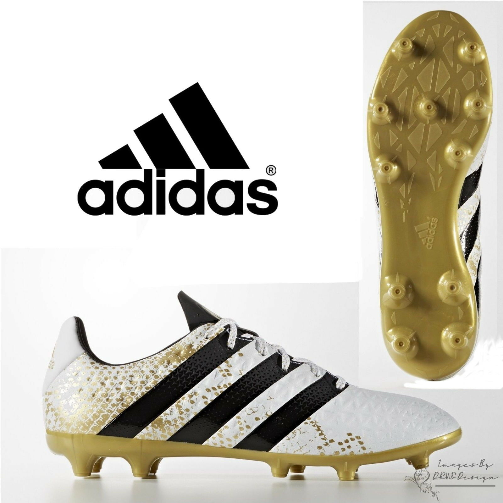 Adidas ACE 16.3 FG Mens Football Boots Firm Ground Boot Moulded Studs S79715