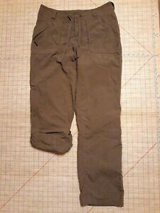 The North Face Cargo Pantalones Ejercito Verde Brown Nylon Para Mujer Talla 8 Largo Estilo Arrd Ebay