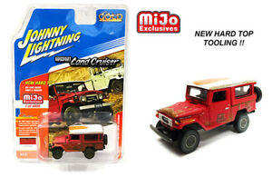 1980 Toyota Land Cruiser RUSTY Red **RR** Johnny Lightning MiJo 1:64  *SALE*