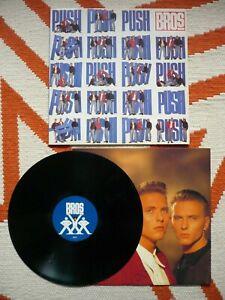 Bros Push Vinyl UK 1988 CBS A2/B2 LP When Will I Be Famous Luke Matt Goss EXC