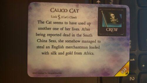 Pirates At Ocean/'s Edge #038 Calico Cat Pocketmodel NrMint-Mint