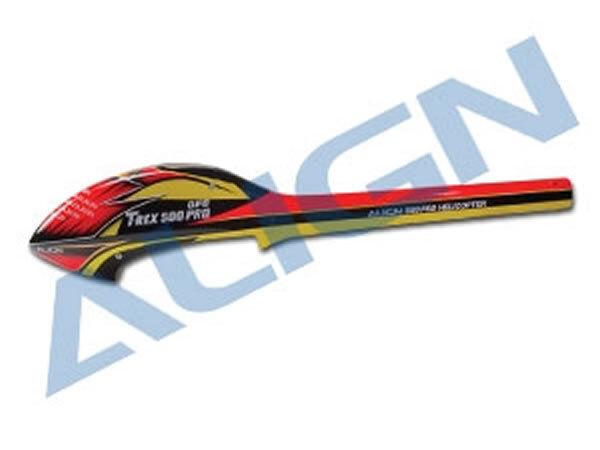 Align T-Rex 500E velocità Fusoliera – Rosso & Giallo