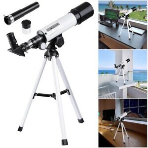 360x50mm-Refractor-Astronomical-Telescope-Eyepieces-w-Tripod-for-Kids-Beginners