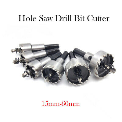 HSS Hole Saw Tooth for Steel Metal Steel Drill Bits Cutter Hole Saw 15mm-60mm