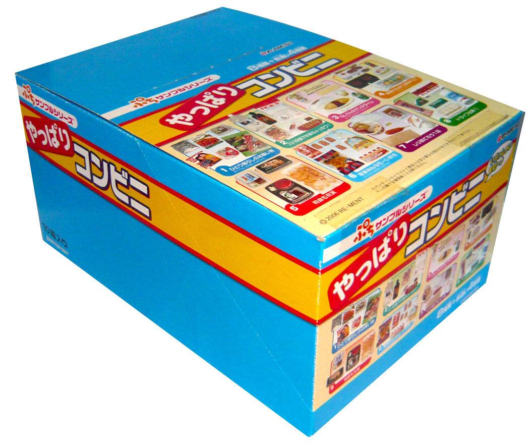 Rare 2006 Re-ment Convenience Store Part 2 Full Set of 8pcs