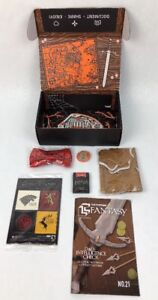 HBO-Game-of-Thrones-Loot-Crate-Bundle-Magnets-Pin-Magazine-Crown-Bowtie-USB
