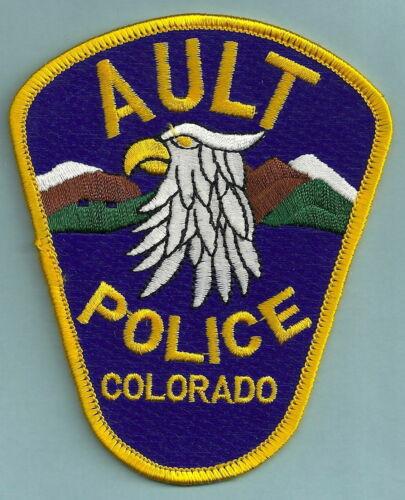 BIRD AULT COLORADO POLICE PATCH